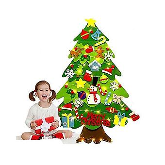 Christmas Tree Hanging Accessories Along With Light Line