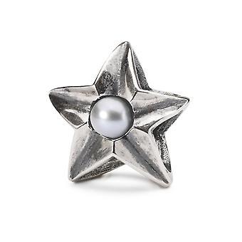 Trollbeads Plata esterlina Escorpio Estrella Cuenta TAGBE-00268