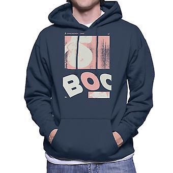 Casper The Friendly Ghost Boo Face Men's Hooded Sweatshirt