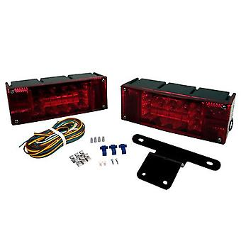 Blazer Lighting C7280 Led Low Profile Trailer Light Kit - Over/Under 80""