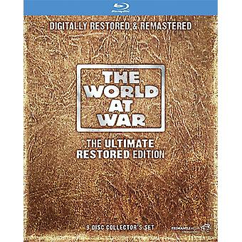 World At War: The Ultimate Restored Edition [Blu-ray] Usa:n tuonti