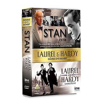 Ensemble de coffrets Laurel and Hardy Double DVD 2-Disc Set
