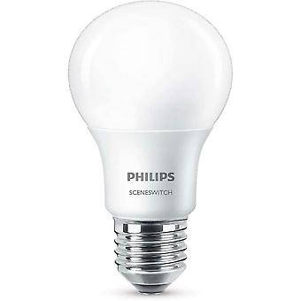 Philips Scene Switch LED E27 Edison Schroeflamp 3 Stap Dimmen 8W (60W) A+