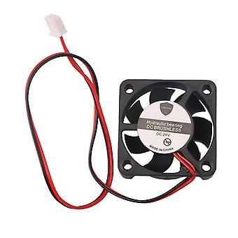 24V DC Premium Square műanyag hűtő ventilátor rendes változat fekete 5664 RPM
