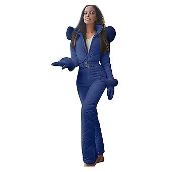 Women Thick And Casual Winter Jumpsuit For Snowboard/outdoor Sports