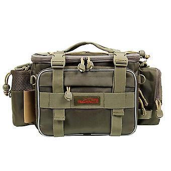 Sac de pêche multifonction, sac de pêche de grande capacité Tackle Lure/sac à bandoulière