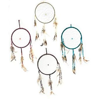 Feather Native American Indian Style Dreamcatcher
