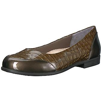 Trotters Womens Arnello Closed Toe Ballet Flats