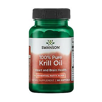 Efas 100% pure krill oil 500mg 60 softgels of 500mg