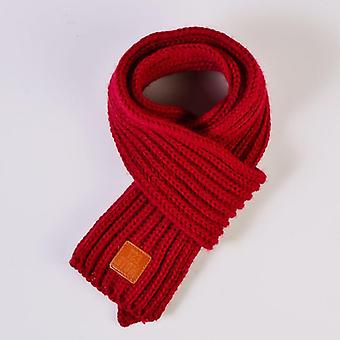 Winter Warm Baby Solid Soft Scarf Collar Stretch Neck Ring Keep Warm
