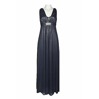 Glittered Mesh Dress With Rhinestone