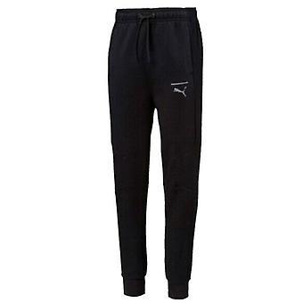 Puma Boys Pace Track Pants Junior Casual Lounge Joggers Black 852213 01