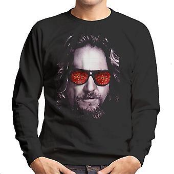 The Big Lebowski The Dude Face Carpet Shades Men's Sweatshirt