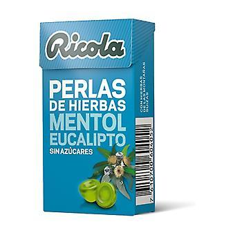 Ricola Eucalyptus Menthol Sugar Free Pearls 25 g