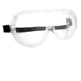 Safety Protective Glasses Transparent Lens Goggles