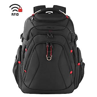 Kroser travel laptop backpack 17.3 inch xl heavy duty computer backpack with hard shell saferoom rfi