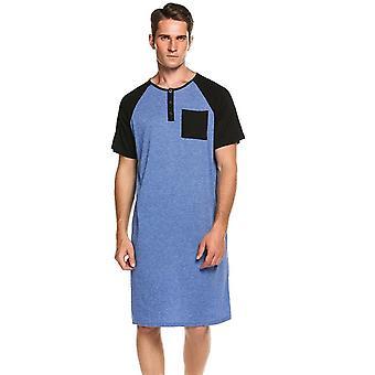 Sleepwear Pitkät Yöpaidat Lyhythihaiset Yöasut Mukavat Löysät Kotivaatteet