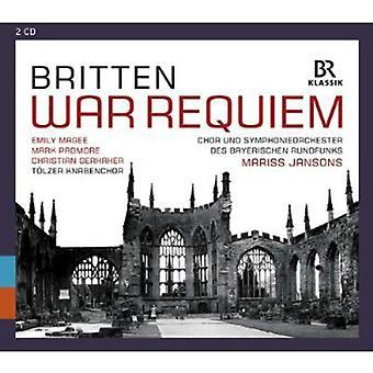 B. Britten - Britten: War Requiem [CD] USA import