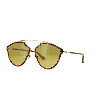 Dior So Real Rise 06J/70 Gold-Havana/Brown Sunglasses