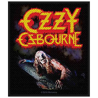 Ozzy Osbourne Bark At The Moon Official Patch