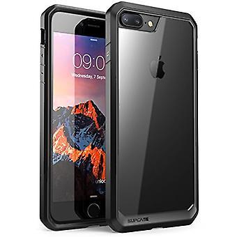 SUPCASE Unicorn Beetle Series Case Designad för iPhone 8 Plus, Premium Hybrid Protective Clear Case för Apple iPhone 7 Plus 2016 / iPhone 8 Plus 2017 Release (Svart)