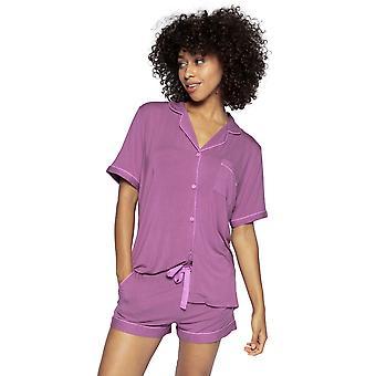 Cyberjammies Aimee 4831 Femme & s Aubergine Modal Pyjama Top