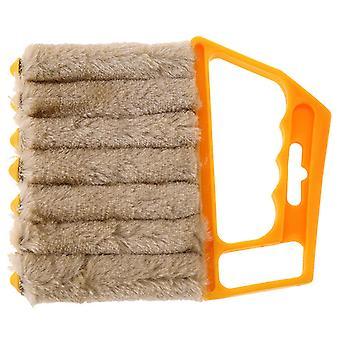 Brosse de nettoyage de fenêtre, brosse amovible et lavable de nettoyeur de climatiseur