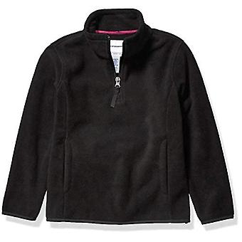 Essentials Girls' Quarter-Zip Polar Fleece Jacket