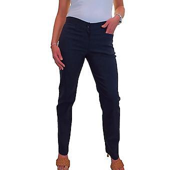 icecoolfashion Pantalones de estiramiento inteligentes para piernas rectas para oficina y escuela