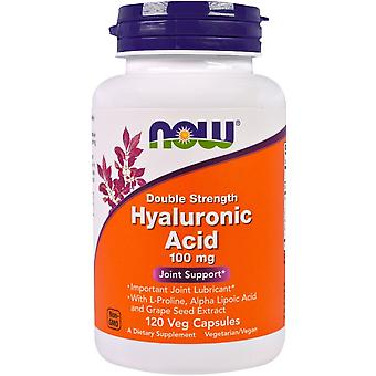 Now Foods Hyaluronic Acid Double Strength 100 mg Cápsula
