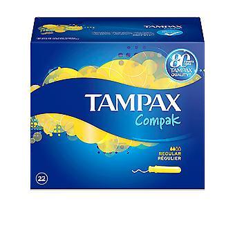 Tampax Tampax Compak Tampón Regularne 22 Uds dla kobiet