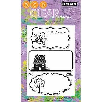 Hero Arts A Little Note - Clear Stamps