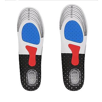 Insoles Unisex Sports Shoe Pad, Neutral Soft Silicone Insole