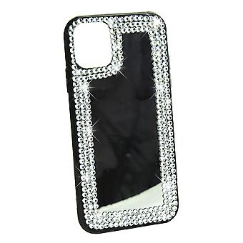 Phone Case Mirror Diamond Crystal Cover For iPhone XR