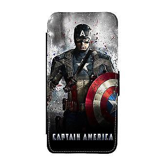 Caso da Carteira Capitão América Samsung Galaxy A72