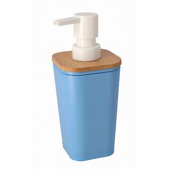 soap dispenser axel 360 ml plastic blue