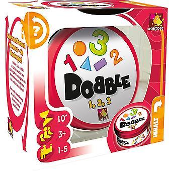 Asmodee 2964 Dobble 1, 2, 3, Familienspiel, Reaktionsspiel, Deutsch