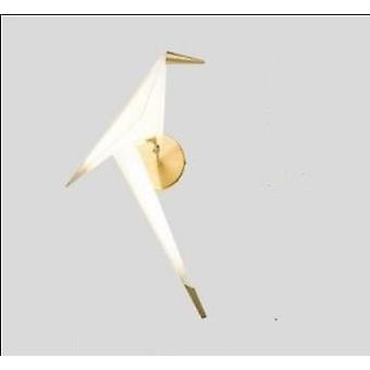 Lámpara de pie nordic bird, luz acrílica creativa