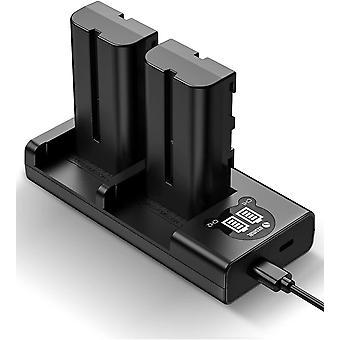 FengChun NP-F550 Kamera Akku als Ersatz für Sony NP F970, F750, F770, F960, F550, F530, F330, F570,