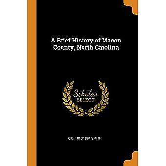 Uma breve história do Condado de Macon, Carolina do Norte