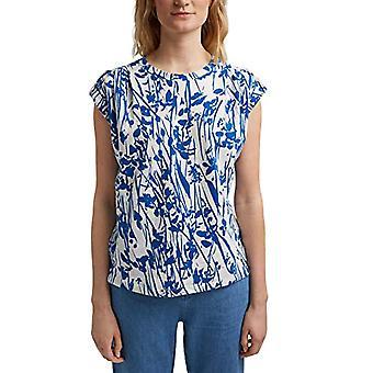 ESPRIT 031EE1K323 T-Shirt, Blanc (110), L Femme