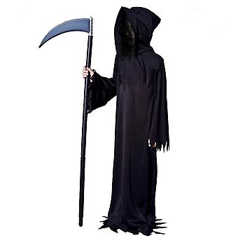 Boys Scary Grim Reaper Halloween Costume Clothes