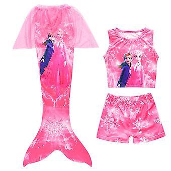 Badeanzug Mädchen Meerjungfrau Kinder Schwanz Bademode