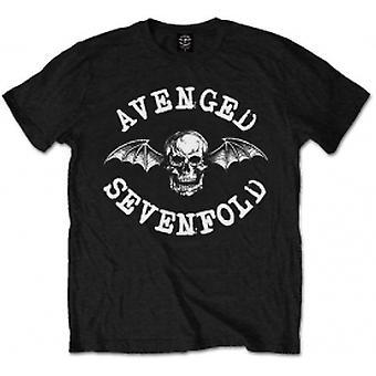 Avenged Sevenfold Classic Deathbat Blk T Shirt: X Large