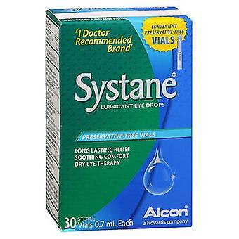 Collirio systane systane lubrificante, 30 ciascuno