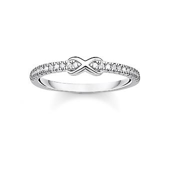 Thomas Sabo Charm Club Hopea Zirkonia Infinity Ring TR2322-051-14