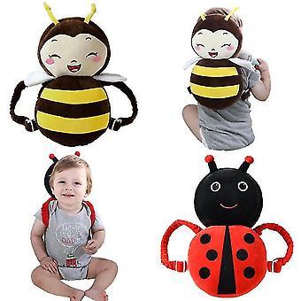 Kisgyermek Baby Walker fej védőpárna párna hátizsák visel állítható csecsemő (Minta 8)