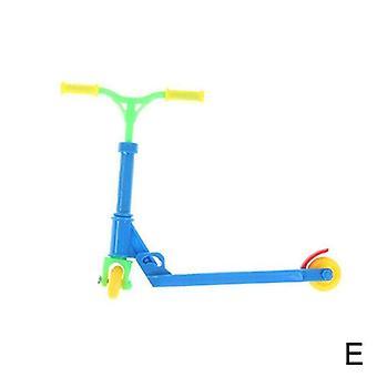מיני קטנוע שני גלגלים צעצוע חינוכי של קטנוע 1 להגדיר אצבע קטנוע אופניים