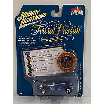 Trivial Pursuit J Lightning Special with Token and Card 1:64 Johnny Lightning JLPC003