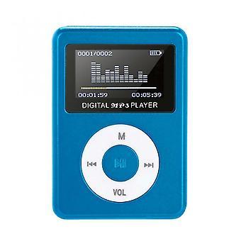 Odtwarzacz muzyczny Mp3 Mini USB Clip Odtwarzacz MP3 Ekran LCD Muzyka Sport Walkman Obsługa 32gb Micro SD Tf